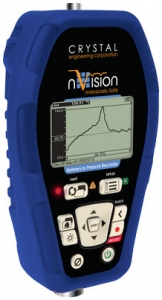 Crystal Engineering nVision Pressure Data Logger Calibrator and Gauge