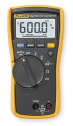 FLUKE 114 Digital MultiMeter (NIST Certified)