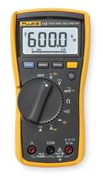 FLUKE 115 Digital MultiMeter with Data (NIST Certified)