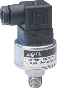 NoShok 600 Series Heavy Duty Pressure Transducers