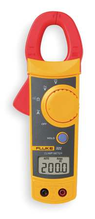 Fluke 322 Clamp on Ammeter