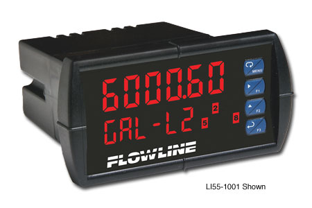 Flowline DataView Single-Channel Meter with Relays